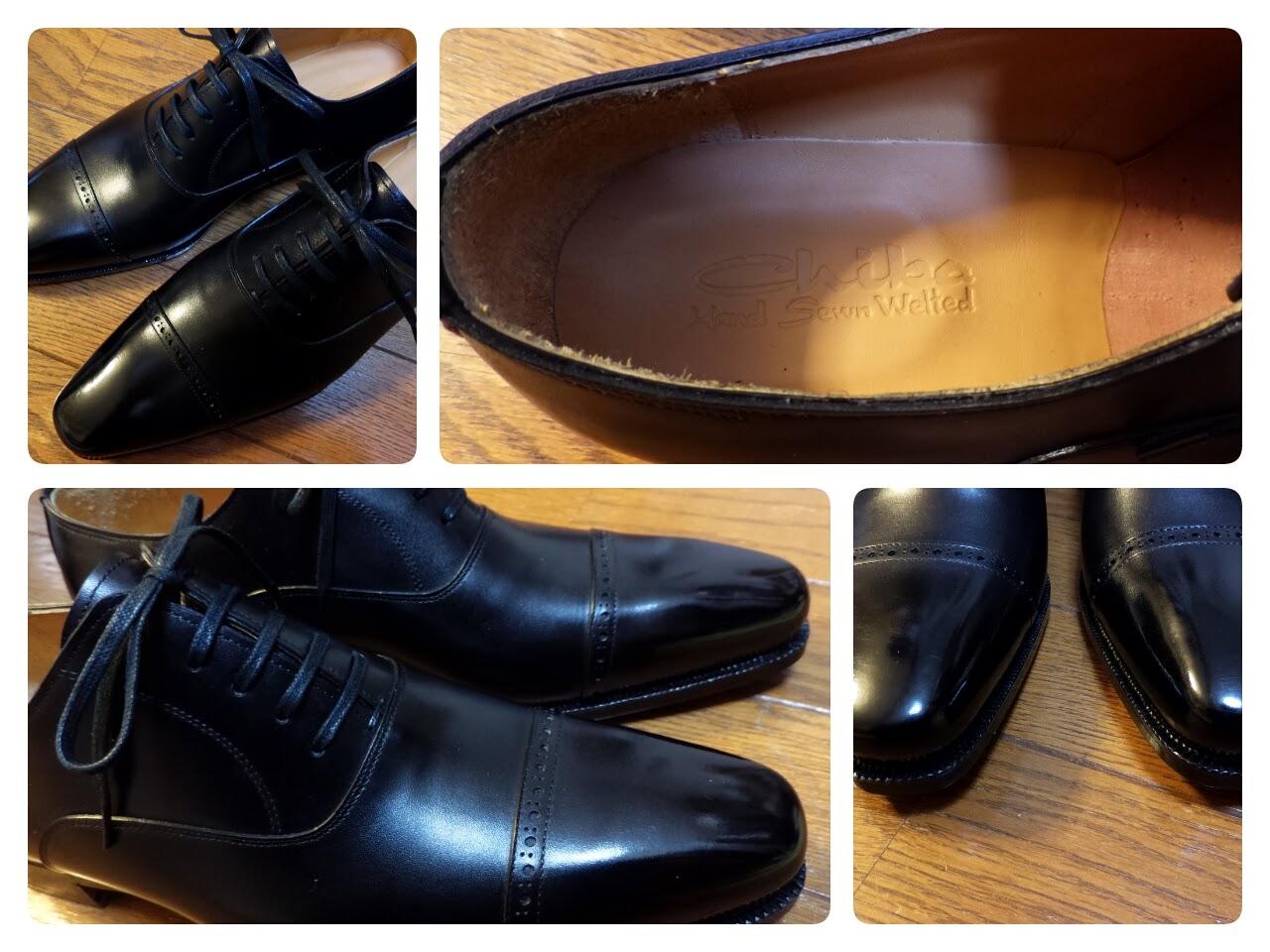 [1178-201602] 千葉刑務所謹製 ハンドソーン・ウェルテッド製法 紳士靴。その先に勝手にこの靴を作られた受刑者の姿を感じる。自己満足だとは分かりながら。