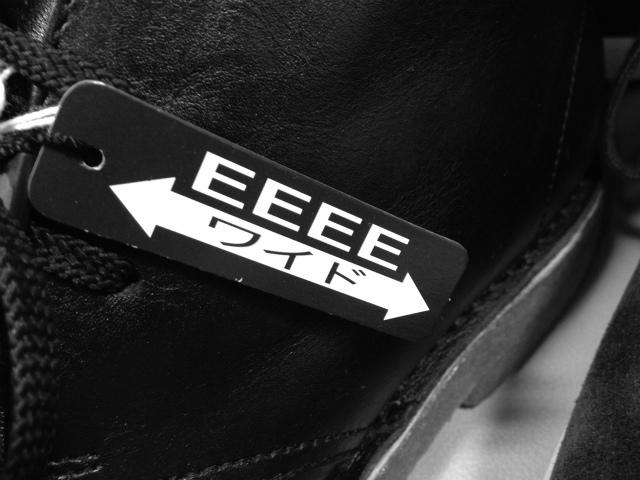 [革靴] 「幅広だからEEE(3E)」は正しいのか、ウィズと横幅、JIS規格から考えてみる。