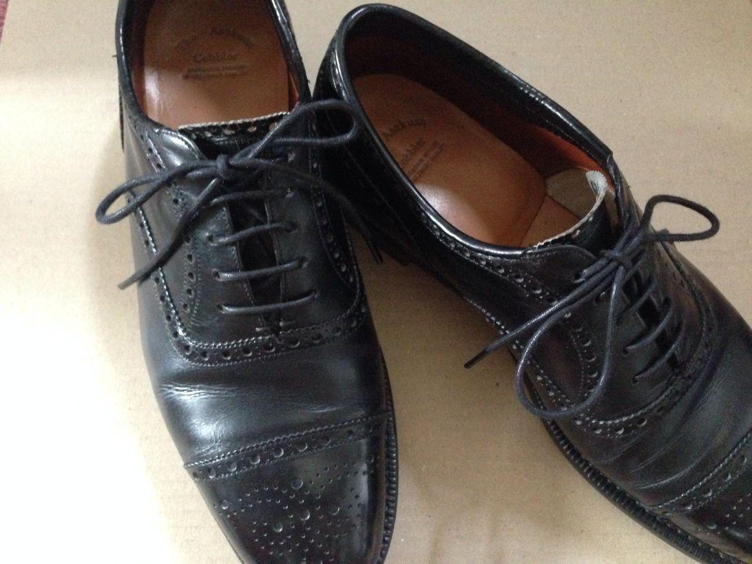 [0202-201405] ここ最近の私の場合の革靴の日々のお手入れを書いてみる。だいたい一日帰宅後1分くらい。