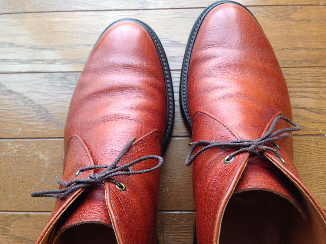 [0444-201412] 靴からキュッキュッと音がする時に試してみて欲しいミンクオイルの使い方。