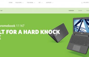 [かぶ] 話題の新作に隠れながらも、Acer Chromebook 11 N7 C731/731Tが発売開始。でもこれ、結構魅力あると思っています。