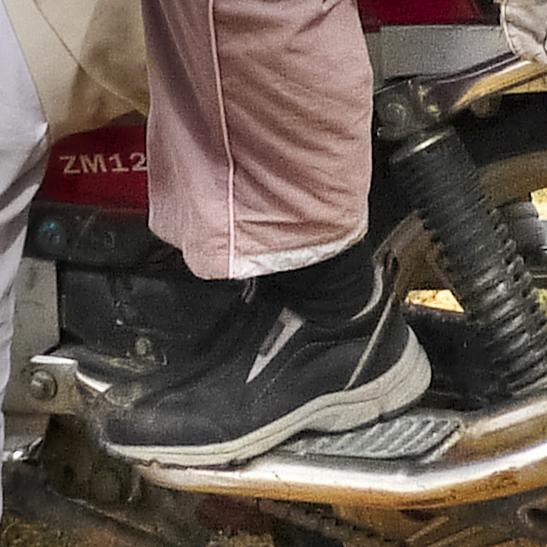 吉竹さんの靴