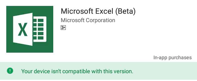 C101PAでは現時点でOfficeアプリはインストール不可。