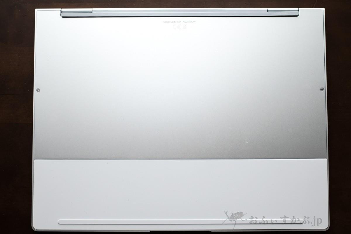 Pixelbookの底面