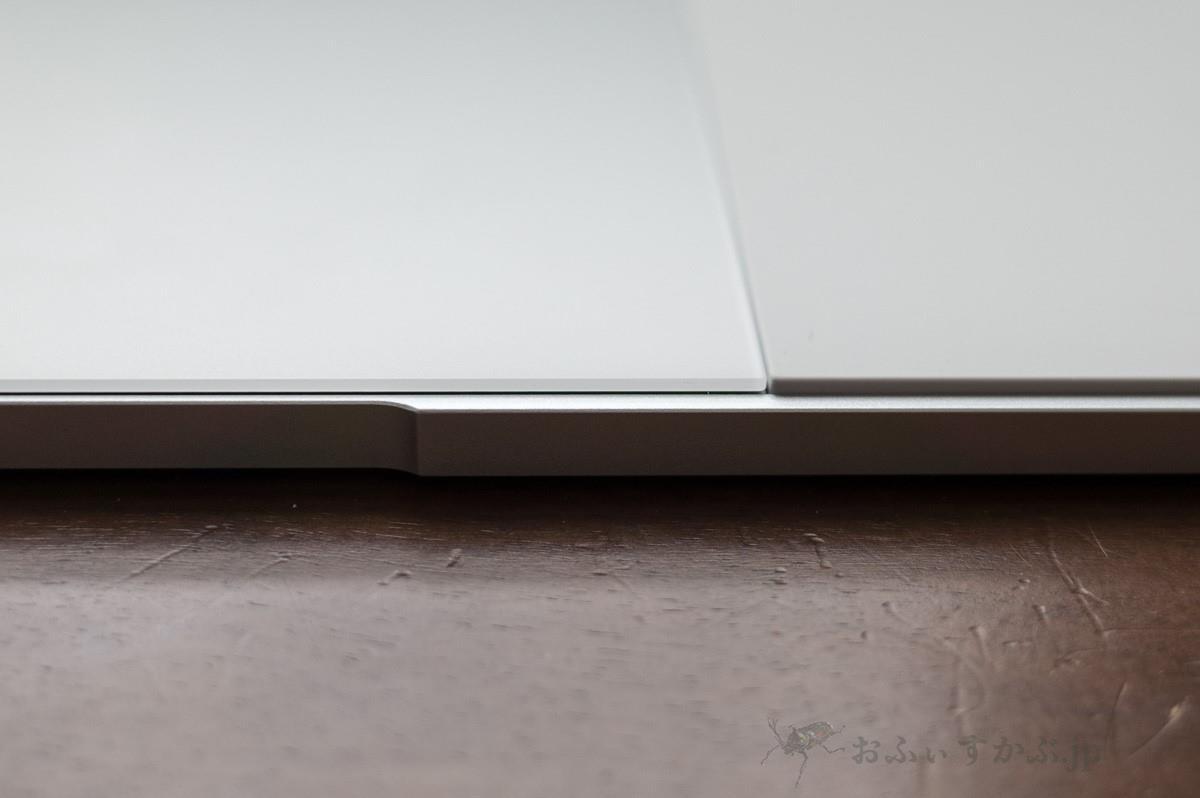 Pixelbookのタッチパッド