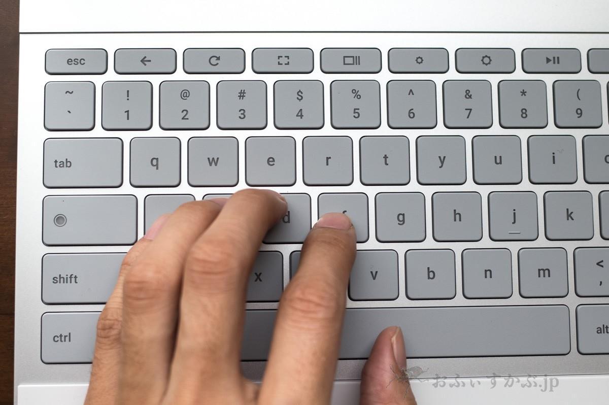 Pixelbookのキーボード