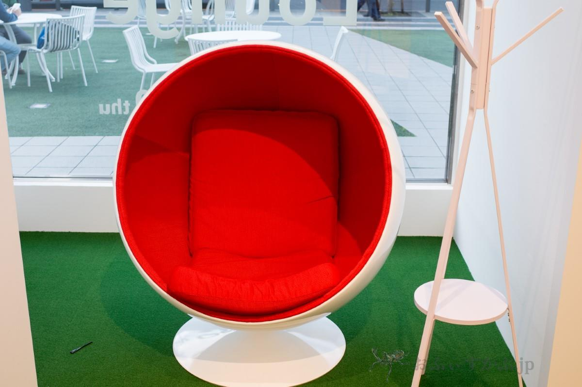 Google Telework Lounge モバイルワークゾーン