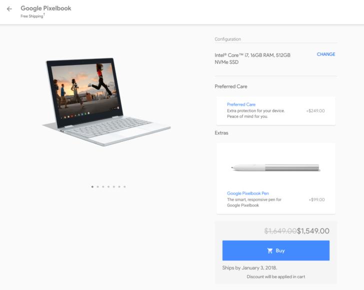 Google Pixelbook, Laptop with Google Assistant - Google Store