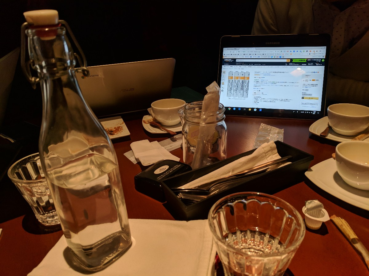 団子さんとSamsung Chromebook Plus