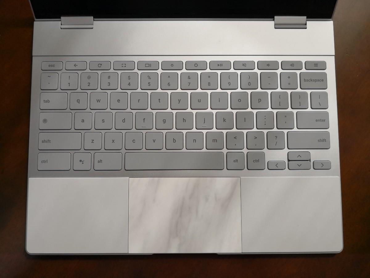 Pixelbookのキーボード面