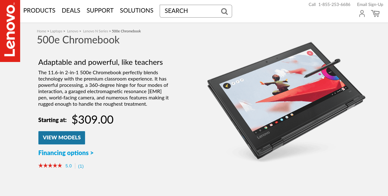 Lenovo 500e | Premium 2-in-1 Chromebook | Lenovo US