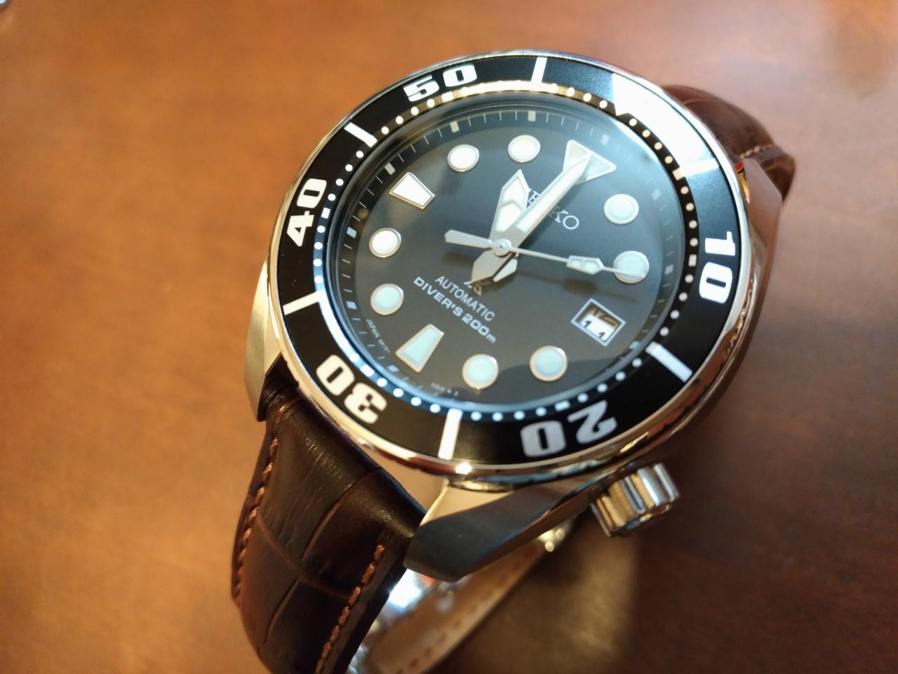 """[腕時計] SEIKO DIVER'S PROSPEX """"SUMO"""" SBDC031。私が定番モデル、現行モデルが好きな理由。"""