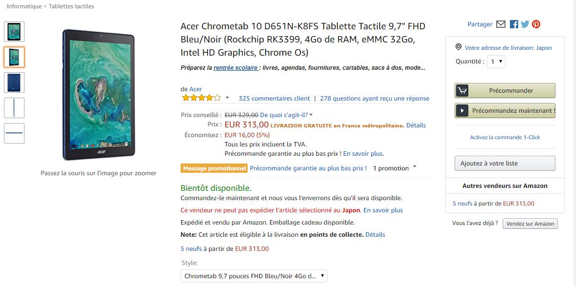 [かぶ] Acer Chromebook Tab 10の入手のハードルが下がったので、国内での盛り上がりに期待しつつ、その魅力を各種動画レビューから振り返ってみました。