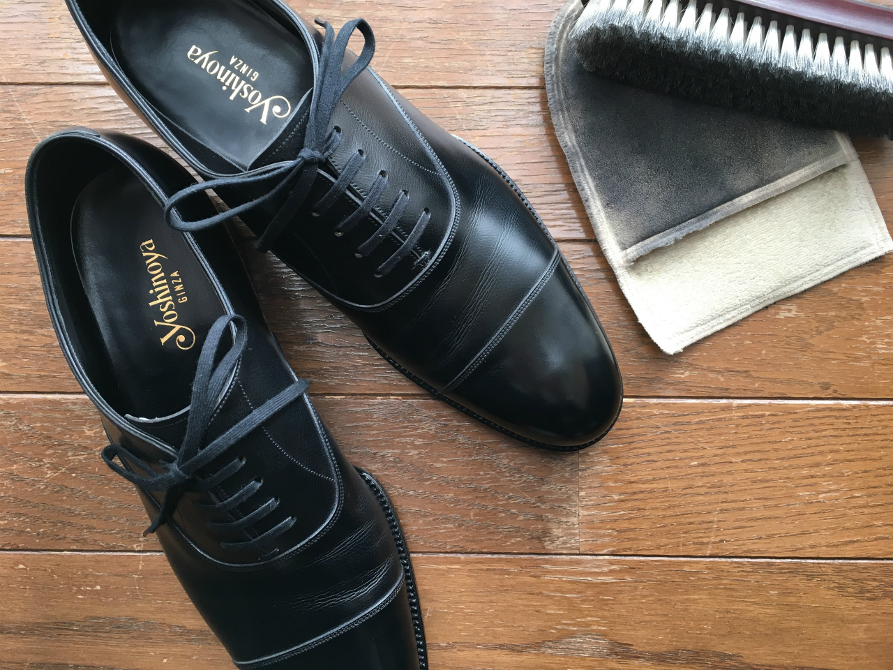 靴のお手入れと選び方