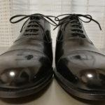 [革靴] 刑務所作業製品展示即売会にて紳士靴S型(千葉)を購入。今この靴に改めて惹かれたのも何かの縁か。