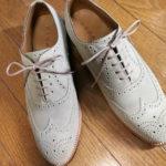 """<span class=""""title"""">[革靴] 世間一般からすると実用的からは少々離れたタイプだけれど、たまにリーガルが気合い入れて出すシリーズ。廃番のW13BCFを入手しました。</span>"""