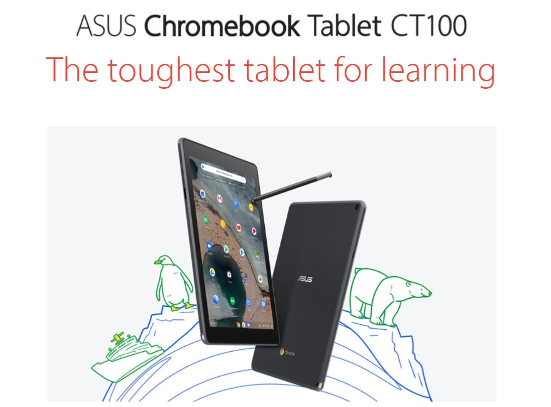 [かぶ] ASUS(US)がChromebookの新モデルC434とCT100の特設ページとプロモ動画を公開。