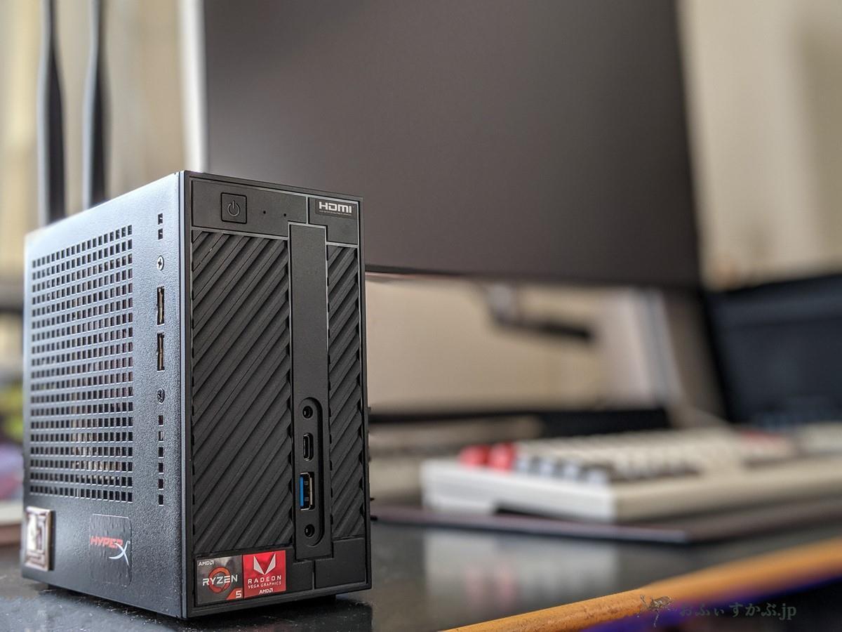 日用品] ASRock DeskMini A300とRyzen 5 2400GでコンパクトPCを作成