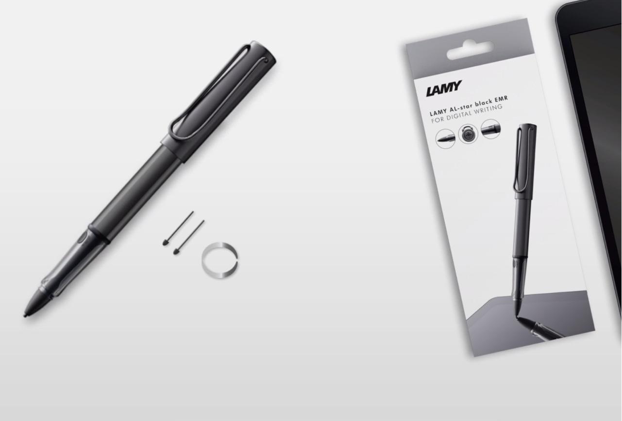 [かぶ] LAMYの定番Al-star(アルスター)にEMRペンが登場。現在独Amazonから入手可能。日本直送も可。