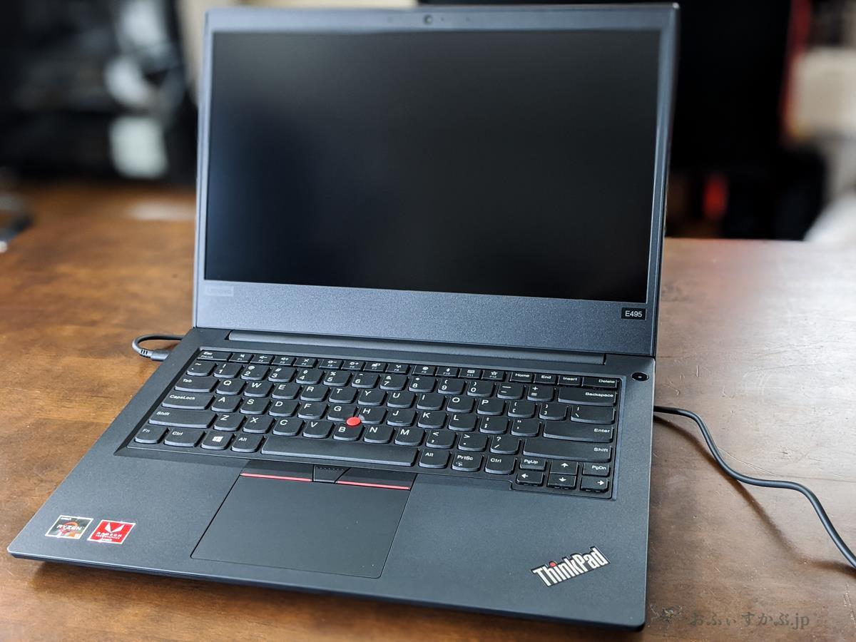 [日用品] 4万円前後+αで購入出来る「必要充分」なノートPC。Lenovo ThinkPad E495が届いたので、換装と購入の方法をまとめました。