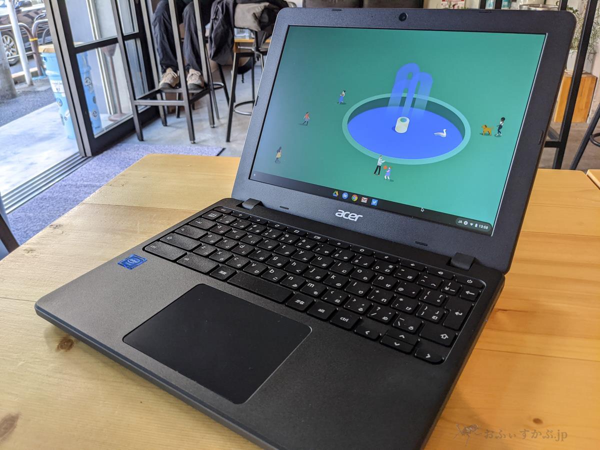 [かぶ] Acer Chromebook 712(C871T-A14N)レビュー。現行最新ハードウェアに必要十分な性能を載せた、普段遣いに適したスタンダードモデル。[PR]