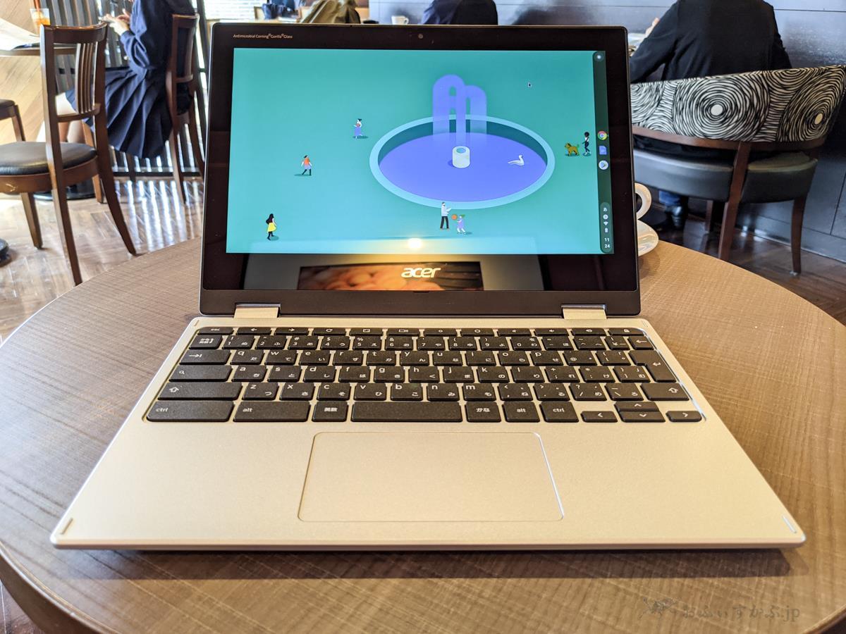 [かぶ] Acer Chromebook Spin 311(CP311-3H-A14N)レビュー。ASUSの名機C101PAの後継を待ち望んでいる人も一考の価値ありの非常に面白いモデル。[PR]