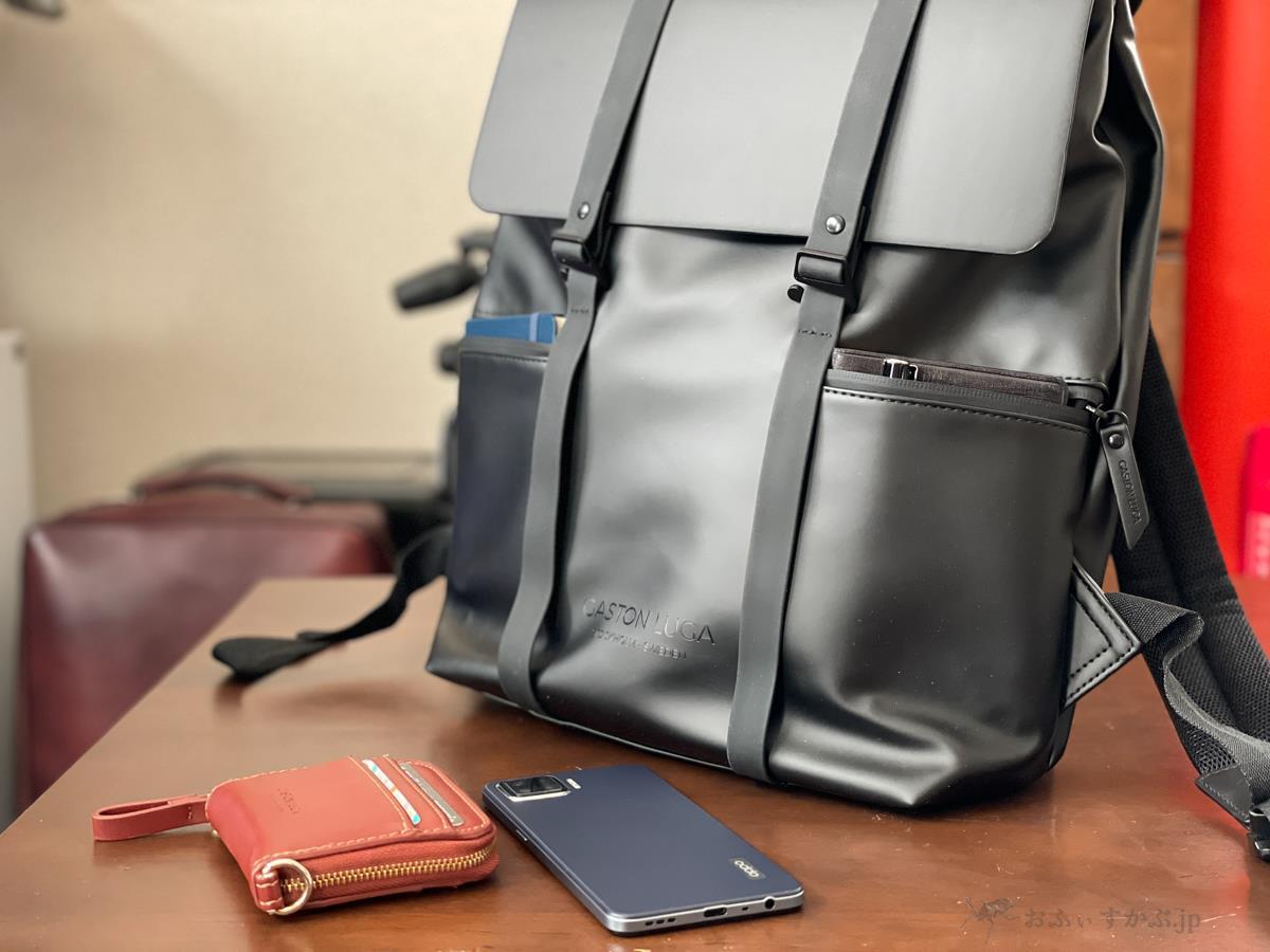 """[鞄] GASTON LUGA(ガストンルーガ)SPLÄSH 13""""レビュー。要ポケットな人にも使い勝手の良い撥水バックパック。[PR]"""