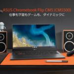 """<span class=""""title"""">[かぶ] ASUS Chromebook Flip CM5(CM5500)で「RAMが半分の4GBしか認識されない」不具合が複数件発生、その解決法について。</span>"""