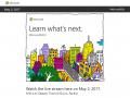 [かぶ] 5月2日にMicrosoftが発表するらしい「Chromebook対抗の新しいWindowsデバイス」はChromebook好きの私もとても楽しみです。